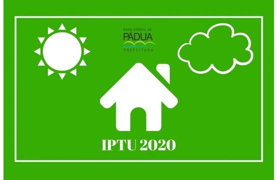 IPTU 2020 - Prorrogação
